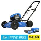 Kobalt 40 Volt Max Brushless Lithium Ion Push 19 in Cordless Electric Lawn Mower