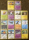 COMPLETE SET OF 14 General Mills POKEMON 25th W PIKACHU  RARE GALARIAN PONYTA