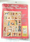 VTG Bucilla Needlecraft Christmas Nativity Advent Calendar Felt Kit 2847 NEW