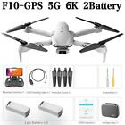 2021 New 6K HD F10 Dual Camera w GPS 5G WIFI Wide Angle FPV Real Time Drone HOT