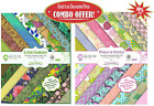 Paperhues Combo Offer Lush Garden  World Of Pastel Scrapbook Pad of 85x11