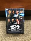 2018 Topps Star Wars: Galactic Files Blaster Box Brand New Factory Sealed