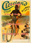 CLEVELAND CYCLES 1898 Native Indian FRANCE  POSTER 10 Sizes 18 Up To 45 FEET