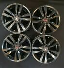 18 BLACK Subaru WRX OEM wheels rims set of 4 2016 2017 2018 STI IMPREZA WRX