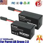 Rechargeable 111V Battery for Parrot AR Drone 20 3000mAh Lithium ion polymer