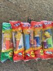Pez Dispensers The Simpsons Homer Marge Lisa Maggie X2 Lot Of 5 Pez Candy Nice!