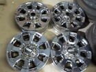 4 Ford F250 Factory 20 Wheels 05 21 F350 Super Duty OE 42E PVD Chrome
