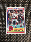 1984 Topps USFL Football Cards 8