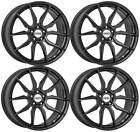4 Dotz Misano grey wheels 80Jx18 5x108 for Ford C Max Focus Kuga Mondeo Puma To
