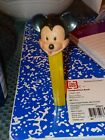 Vintage PEZ- MICKEY MOUSE  No Feet- Made  In Hong Kong...a lil dusty...