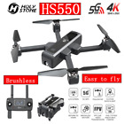 Holy Stone HS550 Brushless Motor Drone with 4K HD Camera FPV GPS Foldable WIFI