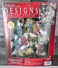 Leisure Arts Cross Stitch Nativity Figures Christmas Tradition 10 Design Vintage