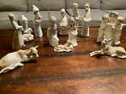 11 piece Lladro Nativity Set Perfect Condition Plus 2 Extra Pieces W S Damage 13