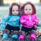 15 Inch Baby Doll Clothes SET OF 2 COMPLETE OUTFITS PINK  BLUE Fit Bitty Twins