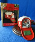 Hallmark Ornament 1991 Chris Mouse Mail 7th in the Series Magic Lighted