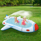 Inflatable Water Play Center Paddling Pool Play Center Sprinkler Play Mat Kids