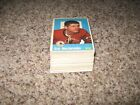 1959-60 Topps Hockey Card Set, Complete, 1-66, Range from Good to VG EX EX