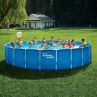Summer Waves 24 ft Active Frame Round Above Ground Swimming PoolBRAND NEW