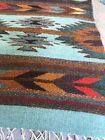 Zaptec Native American Design Table Runner + 6 Coasters 16x42 New
