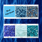 Blue Fire Glass for Fire Pits Fireplaces and Decoration