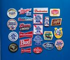 25 NEW BEER Easy Sew Iron On EMBROIDERED WHOLESALE 3 4 Inch PATCHES FREE SHIP
