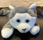 Ty Nanook Beanie Baby 1996 Great Condition With Tag Protector