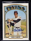 ROD CAREW 2021 Topps Heritage Real One On Card Autograph Auto #ROA-RC Twins