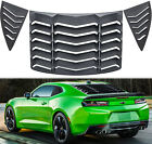 Rear  Side Window Louver Sun shade Scoop Cover for Chevrolet Camaro 2010 2015