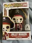 Disney Parks Exclusive Pirates Of The Caribbean Jolly Roger Funko Pop Figure