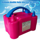 Portable Double Electric Balloon Air Pump Inflator 110 220V Blower Arch Party