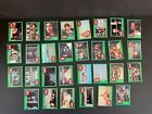 1977 Topps Star Wars 4th Series 4 Complete 66 Green Trading Card Set EX+