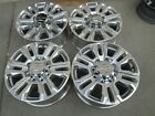 20 GMC CHEVY 2500 HD 3500 HD OEM FACTORY WHEELS RIMS 2020 DENALI POLISHED
