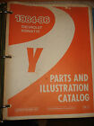 1984 1986 CHEVY CORVETTE PARTS BOOK CATALOG NUMBERS BOOK 85 86