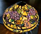Exquisite Stained Glass Lamp Shade LARGE 225 Diameter