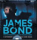 Factory Sealed Box of James Bond Autographs & Relics trading cards - Rittenhouse