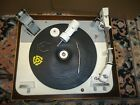 GARRARD TYPE  A  RECORD PLAYER TURNTABLE CREAMY WHITE COLOR