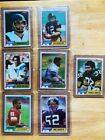 1981 Topps Lot of (7), Art Monk Rookie Card #194