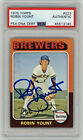 Robin Yount Cards, Rookie Cards and Autographed Memorabilia Guide 50