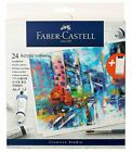 Student Acrylic Colours Each 9 ml Set of 24 Multicolour From Faber Castell