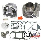 180cc 61mm Big Bore Cylinder+Head Kit For GY6 125cc 150cc Scooter ATV Moped USA