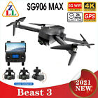 SG906 MAX PRO 5G WiFi FPV RC Quadcopter 2 Beast 3 GPS Drone Obstacle Avoidance