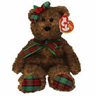 TY Beanie Baby - HAPPY HOLIDAYS the Bear (Hallmark Gold Crown Excl) (8.5 inch)