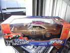 Ertl 1 18 RARE 1 8 Gold plated dukes of hazzard general lee dirty charger NIB
