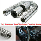 Car Parts Accessories Chrome Stainless Steel Radiator Hose Aluminum Clamp Covers