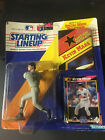 KEVIN MAAS NEW YORK YANKEES 1992 STARTING LINEUP NEW WITH POSTER AND CARD