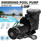 10 HP Swimming Pool Spa Water Pump 110 Volt Outdoor Above Ground Strainer Motor