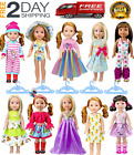 American Girl Doll Clothes Accessories for 14inch 145 inch Wellie Wishers Willa