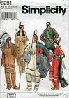 Simplicity Costumes Pattern 8281 Native American Style Costumes by Andrea Sch