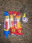 Pez Dispensers Jack In The Box Fast Food Restaurant Toys & New Antenna Ball New