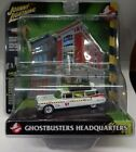 WHITE LIGHTNING GHOSTBUSTERS ECTO 1 1959 CADILLAC 1 64 FIRE HOUSE CHASE